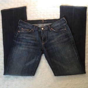 "7 For All Mankind ""Kimmie"" Bootcut Jeans EUC"